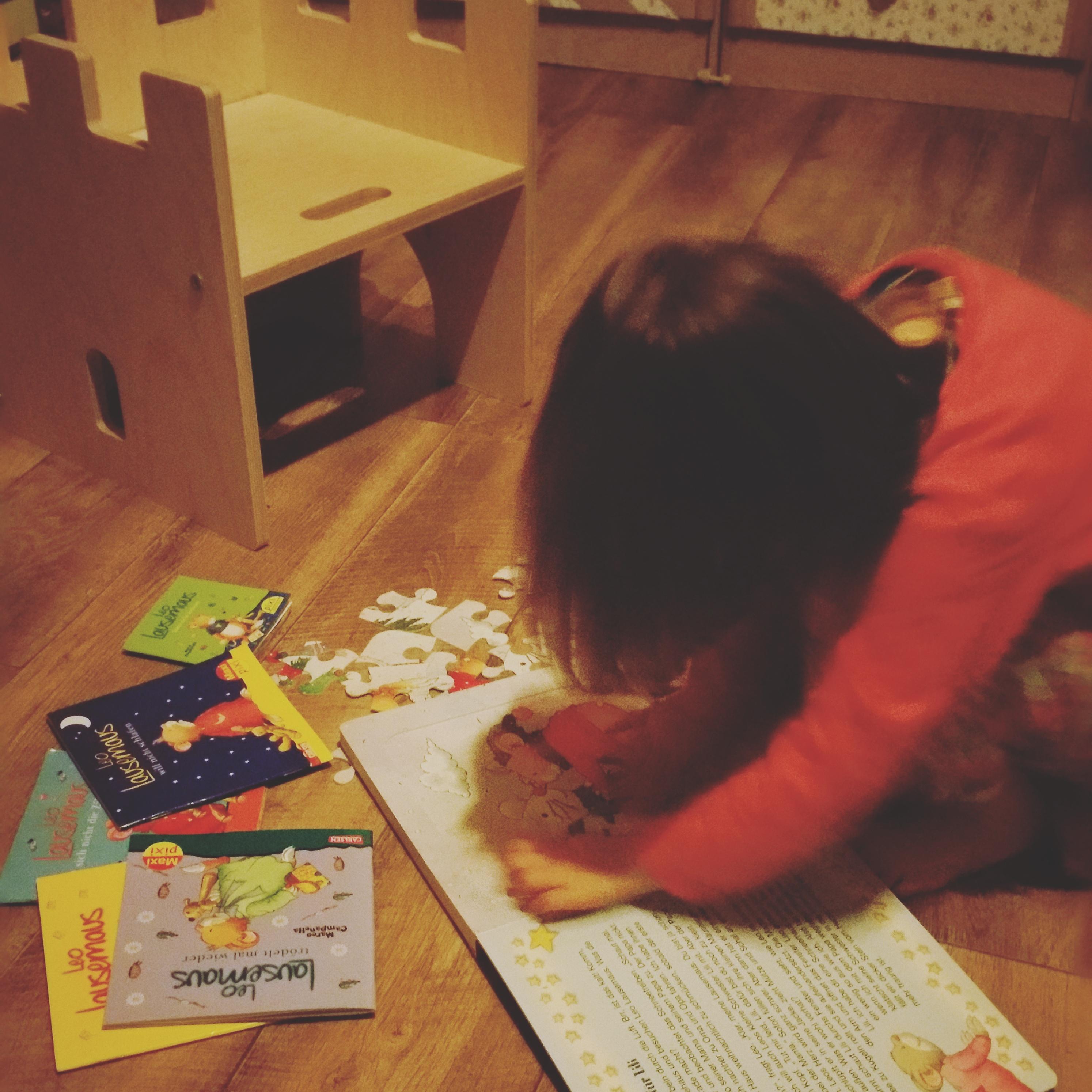 Mini ist genauso begeistert wie ich von Leo Lausemaus und von Ihrem neuen Buch