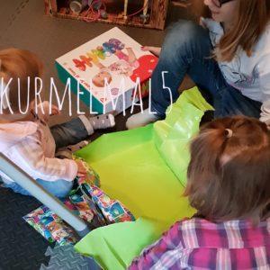 Geswchenk, auspacken, Geburtstag, Kurmalmal5