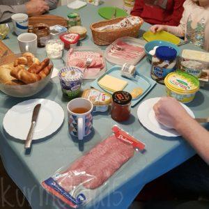 Frühstück bei Oma und Opa