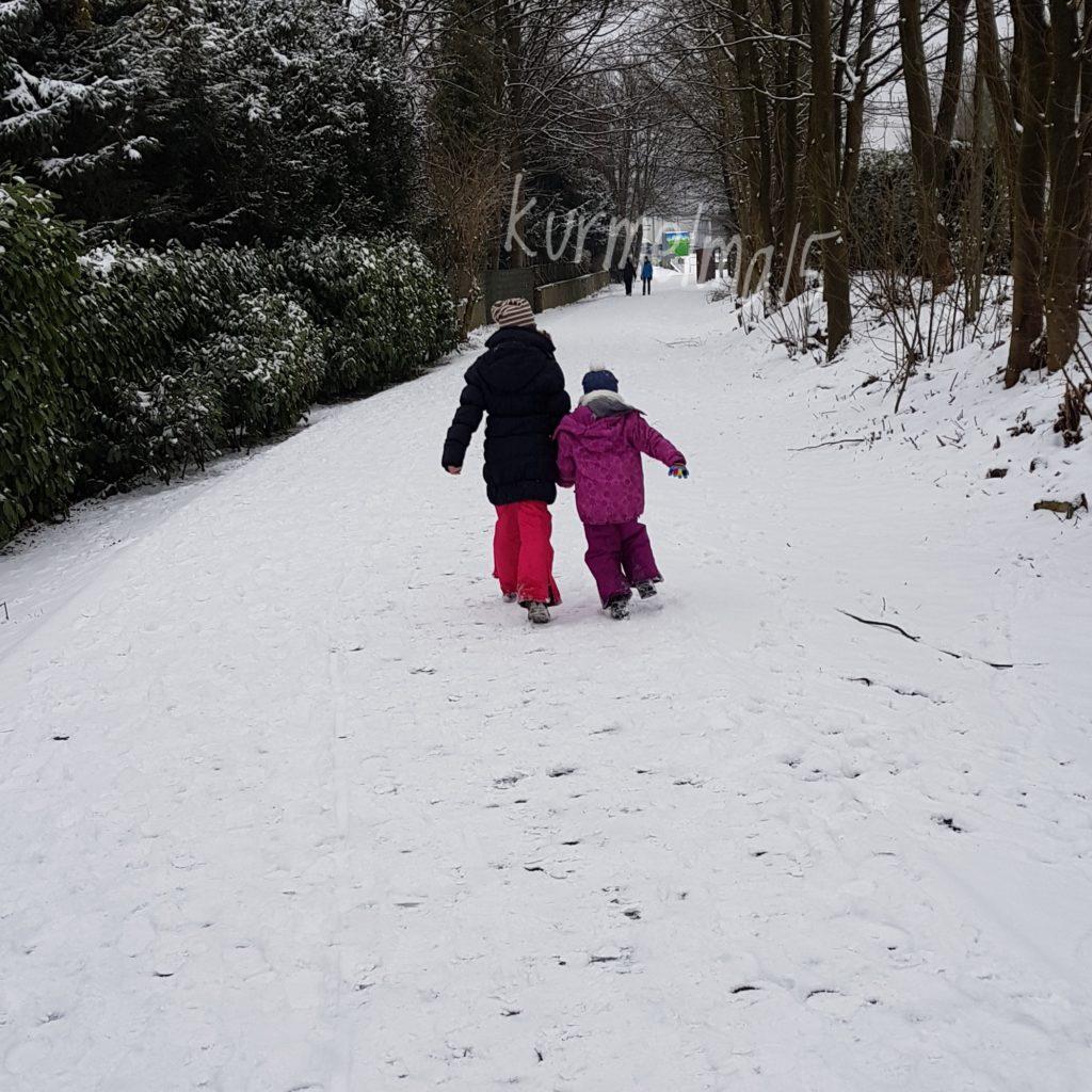 Trasse des Handwerks, Bergisches Land, Winter