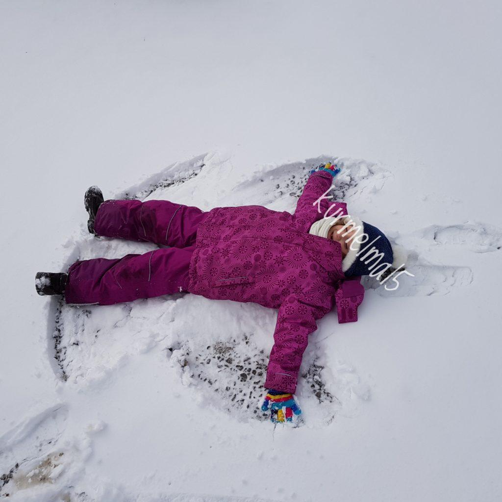 Schneeengel, Winter,
