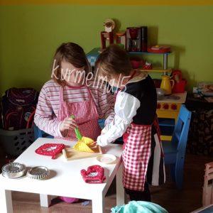 spielen, Kinderküche, Spielküche, Geschwister, kind, kinder